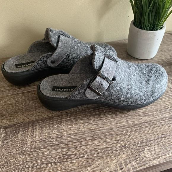 Romika Wool Slippers